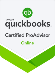 QuickBooks Certified ProAdvisor Online color logo for Adcon Business Solutions